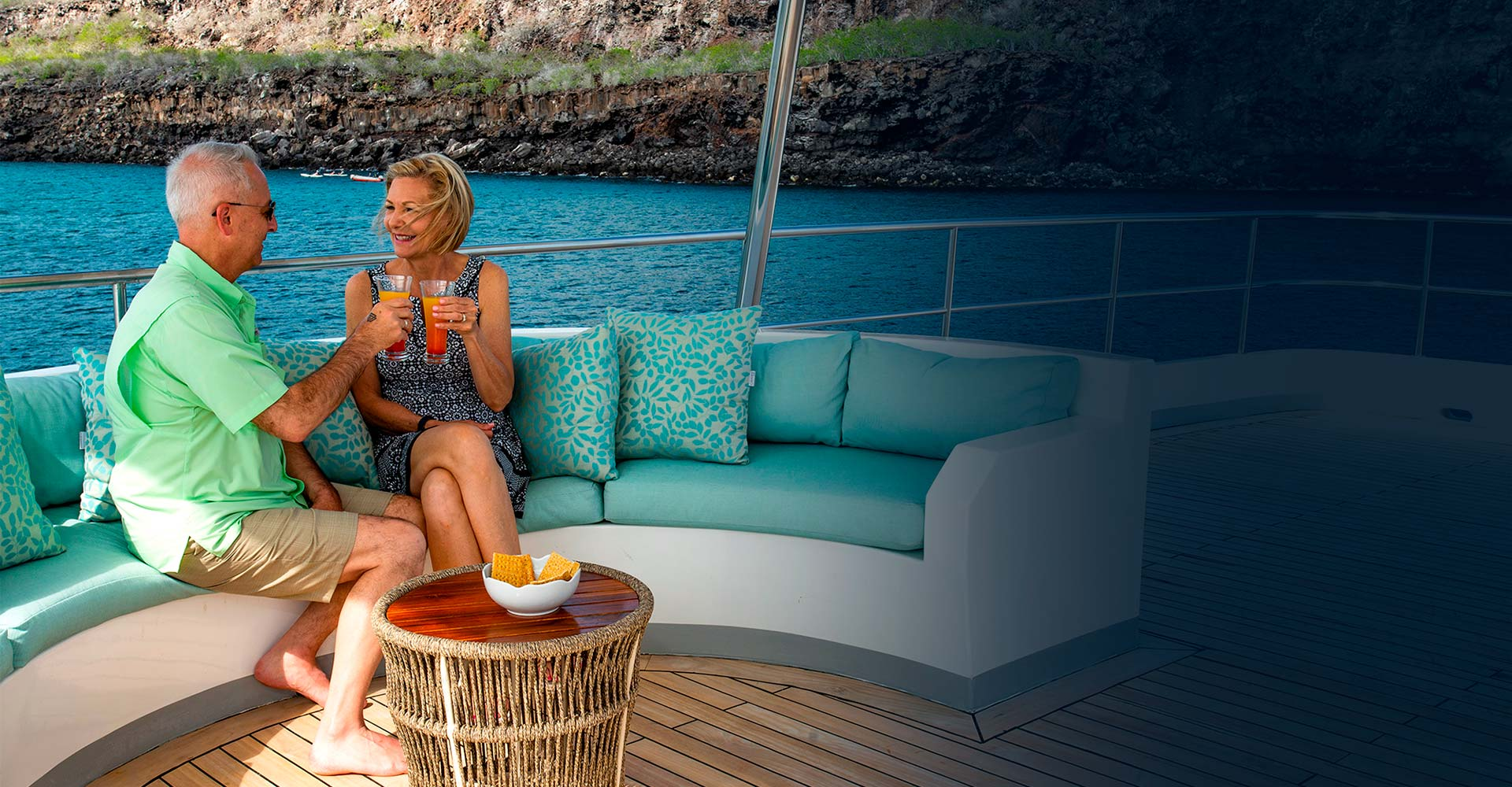 A luxury experience in cruise, Galapagos Islands